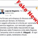 """Comune Napoli: """" nessuna chiusura delle scuole"""""""