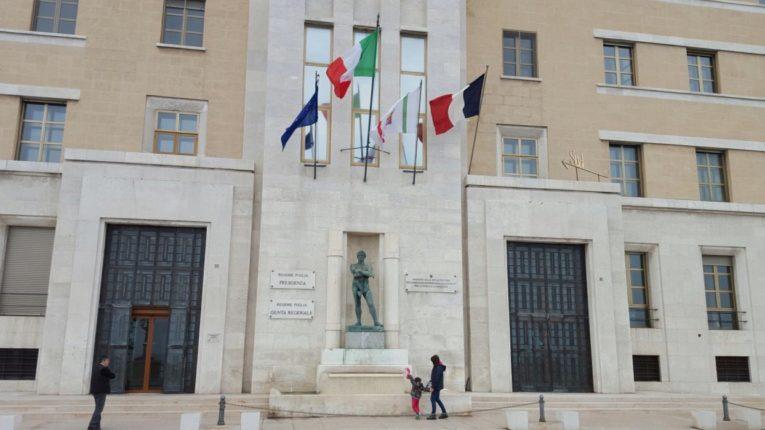 Regione Puglia: i principali provvedimenti adottati oggi dalla Giunta