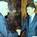 Governo: Giuseppe Conte rimette l'incarico ricevuto a Mattarella