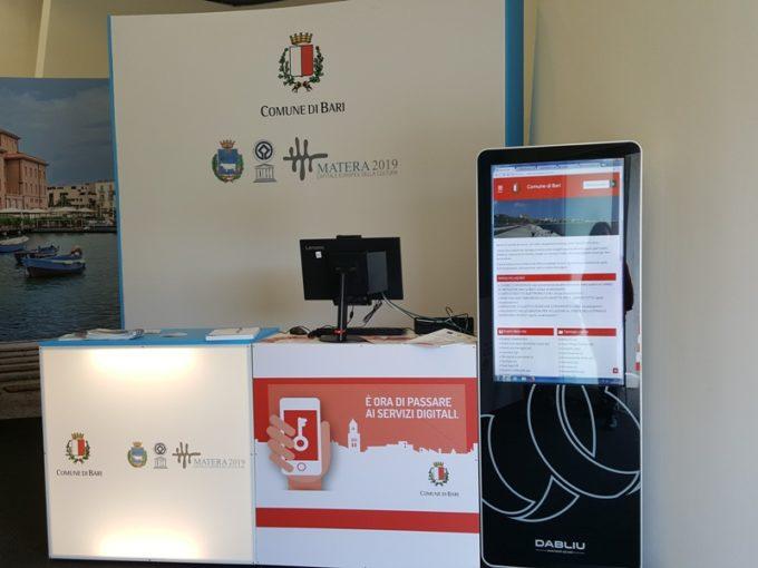 Fiera del Levante:  i cittadini potranno ottenere le credenziali per accedere ai servizi online allo  Spid Point del comune