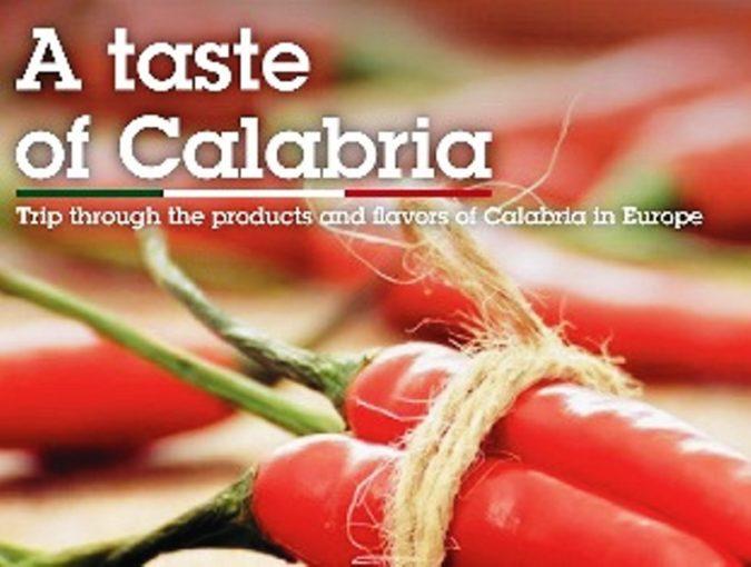 """Successo a Bruxelles dell'evento """"A taste of Calabria"""" per valorizzare il gusto dell'agroalimentare calabrese"""