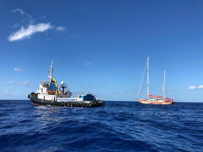 """Caserta: progetto """"Mediterranea"""", prima raccolta fondi per la nave che salva i migranti nel mediterraneo"""