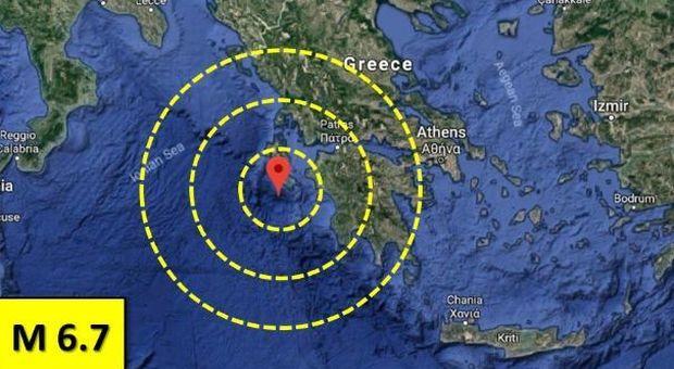 Forte scossa di terremoto colpisce la Grecia, avvertita anche nel sud Italia