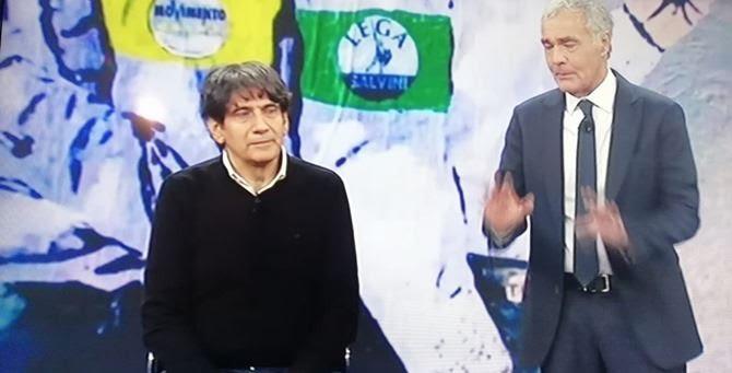 Calabria: il caso del dirigente regionale Carlo Tansi, ieri a '' Non è l'arena'', le colpe della burocrazia e le inadempienze della politica