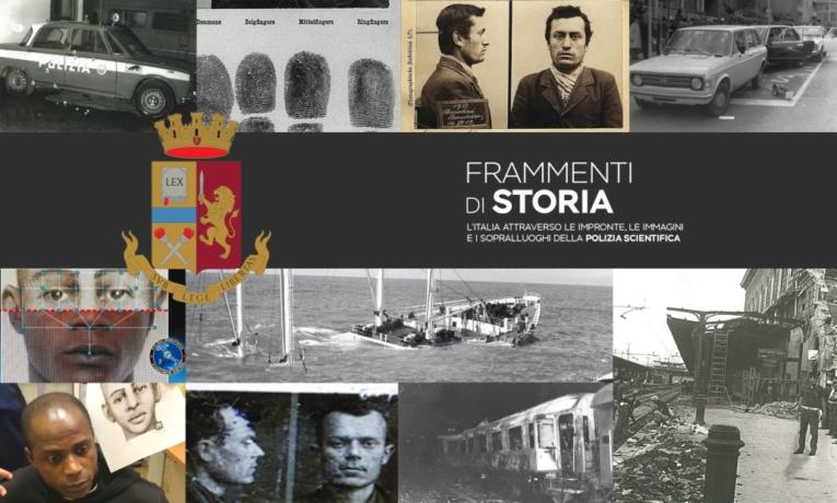 """Salerno: Mostra fotografica della Polizia Scientifica """"Frammenti di storia"""""""