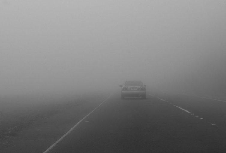 Maxitamponamento per nebbia , disposta chiusura sull'A1