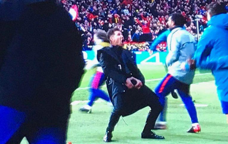 Calcio: la UEFA apre un procedimento disciplinare contro Simeone