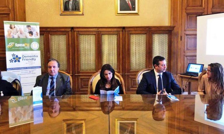"""Bari: presentato il progetto pilota """"Rione dementia friendly"""", promosso dall'Associazione Alzheimer Bari Onlus e dal Municipio II"""