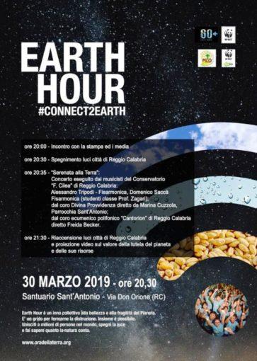 Reggio Calabria ha aderito a Hearth Hour per preservare la biodiversità, luci spente per un'ora