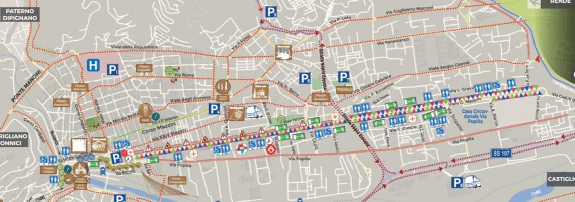 Cosenza: Fiera di San Giuseppe 2019, tutti i provvedimento sul traffico