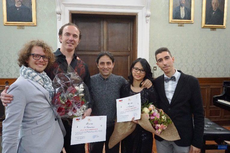 """Grande successo a Catanzaro del concerto per pianoforte """"Armonie di primavera"""", organizzato da Consolidal e Agimcal"""