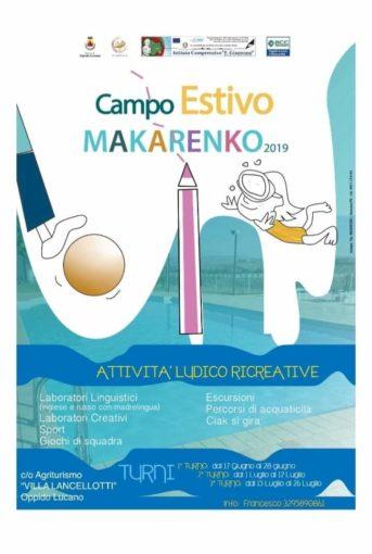 Al via a Oppido Lucano la VI edizione del Campo estivo Makarenko, promossa dalla Consolidal
