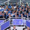 Napoli in festa per la cerimonia inaugurale delle Universiadi 2019, presente Mattarella