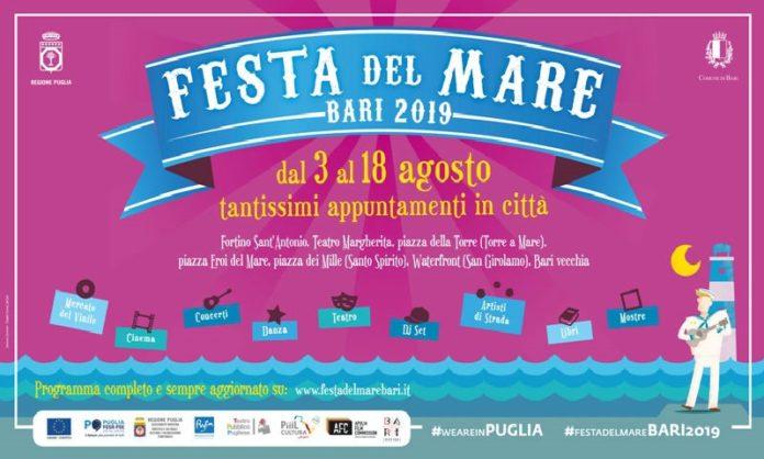 Bari: il programma degli eventi previsti per la festa del mare