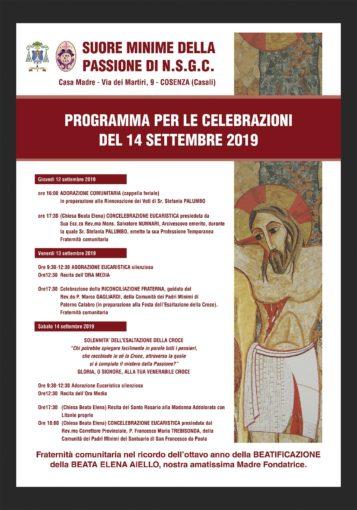 Cosenza: celebrazioni per l'anniversario della beatificazione di Madre Elena Aiello