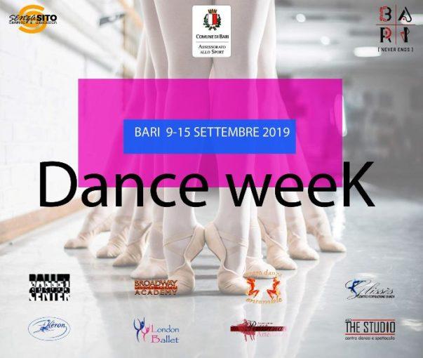 "Al via la manifestazione ""Bari Dance Week"""