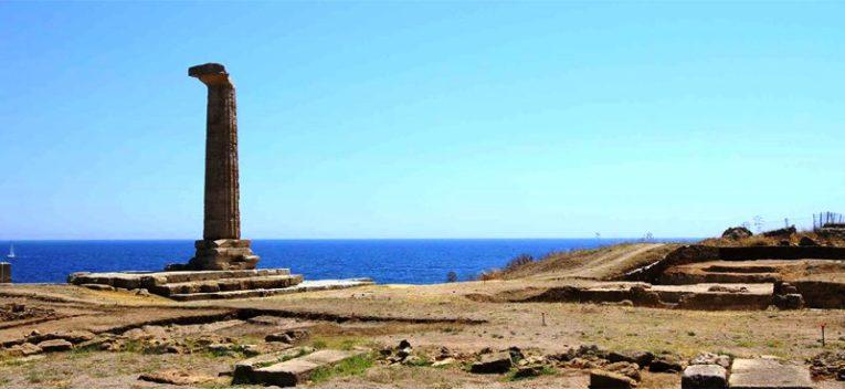 Crotone: iniziano i lavori di manutenzione dello splendido Parco archeologico di Capo Colonna