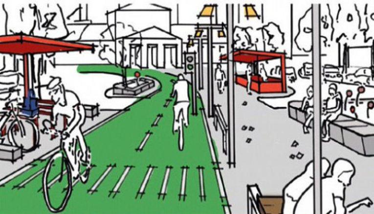 Lecce: Parliamo di Bicipolitana, il sindaco Salvemini insieme al sindaco di Pesaro Matteo Ricci in bici per i quartieri