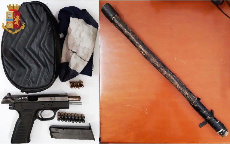 Caserta: la Polizia di Stato arresta un trentanovenne per ricettazione e porto d'arma clandestina