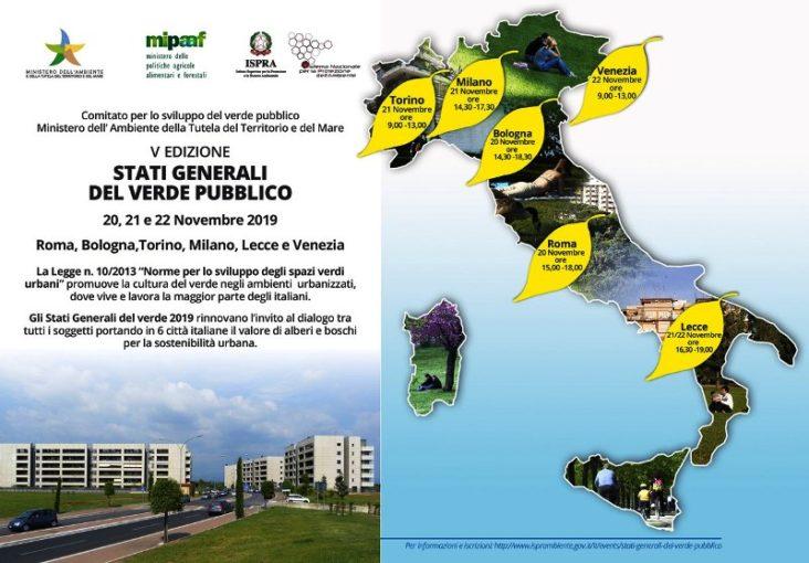 A Lecce gli Stati Generali del Verde Pubblico