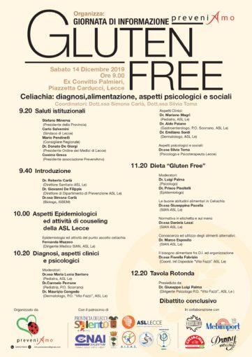 Lecce: giornata informativa sulla celiachia all'ex Convitto Palmieri
