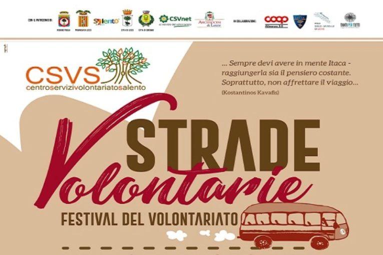 Continua il Festival del volontariato a Lecce, Parabita, Brindisi e Taviano