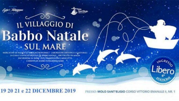 """Taranto: al via la sesta edizione de """"Il Villaggio di Babbo Natale… sul Mare"""""""
