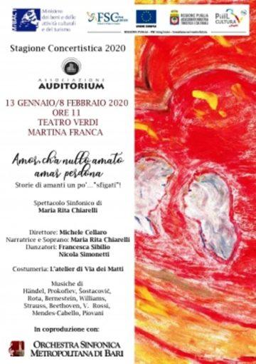 Martina Franca: spettacolo dell'Orchestra Sinfonica Metropolitana di Bari al Teatro Verdi
