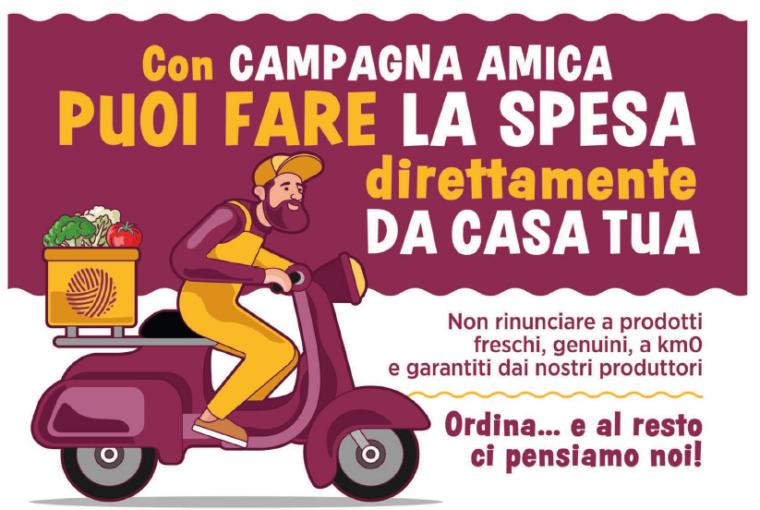 Calabria,CoronaVirus: dagli agricoltori di Campagna-Amica la spesa a domicilio