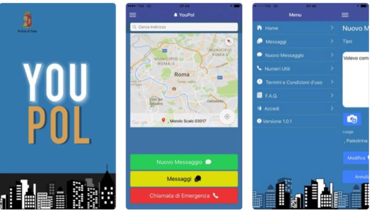 YouPol. L'app della Polizia di Stato per segnalare casi di violenza domestica