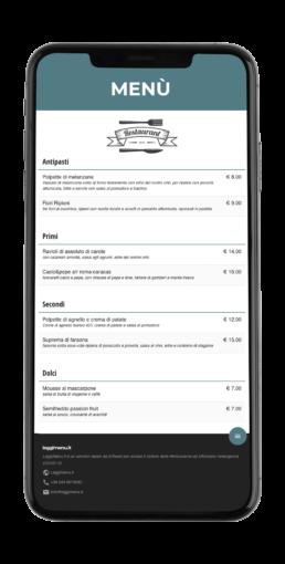 Leggimenu - Menu digitale gratuito a sostegno della Ristorazione