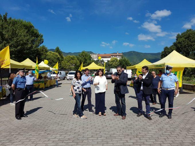 Calabria: inaugurato a Mendicino (CS) il mercato contadino all'aperto di Campagna Amica