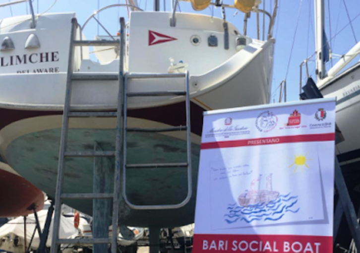 """Bari: oggi la presentazione in barca de """"La pelle in cui abito"""" con l'autore Giancarlo Visitilli"""