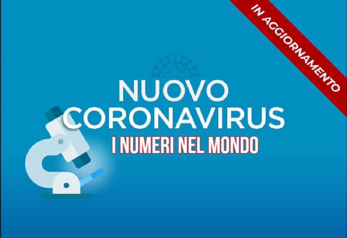 Coronavirus nel mondo: superati i 7 milioni di contagi e 400.000 morti