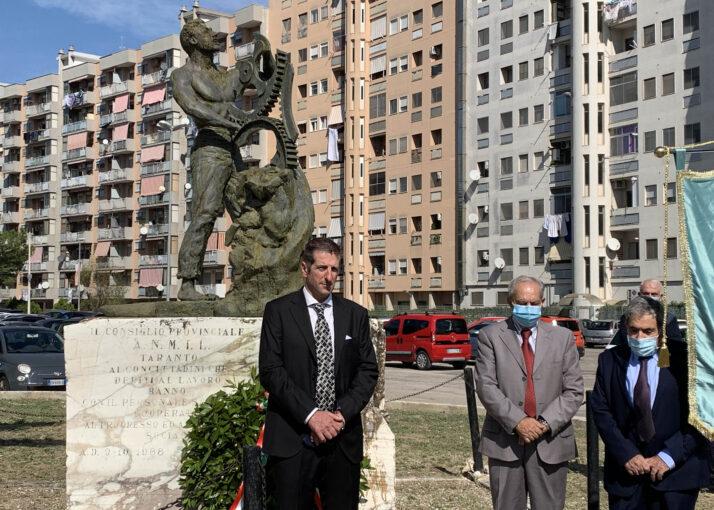 Celebrata a Taranto la 70ª Giornata Anmil per le vittime degli incidenti sul lavoro
