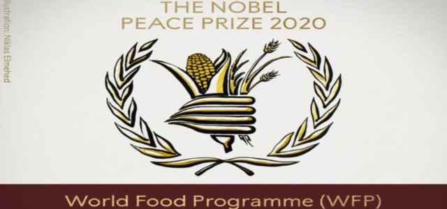 Il Premio Nobel per la Pace per il 2020 assegnato al World Food Program (WFP)