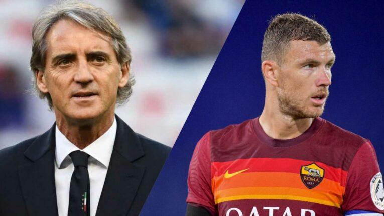 Calcio: Roberto Mancini ed  Edin Dzeko hanno contratto il COVID-19