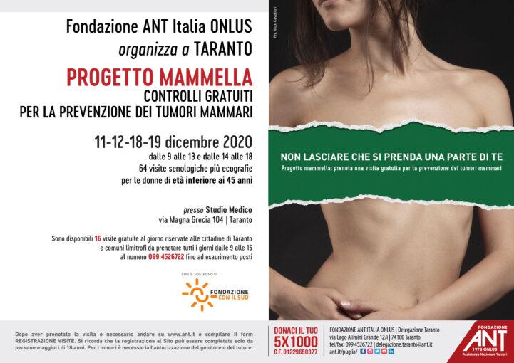A Taranto 64 visite senologiche gratuite
