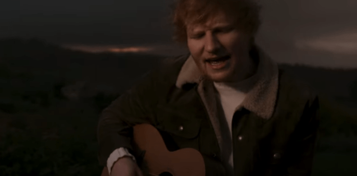 Musica: Ed Sheeran  pubblica a sorpresa una nuova canzone, Afterglow