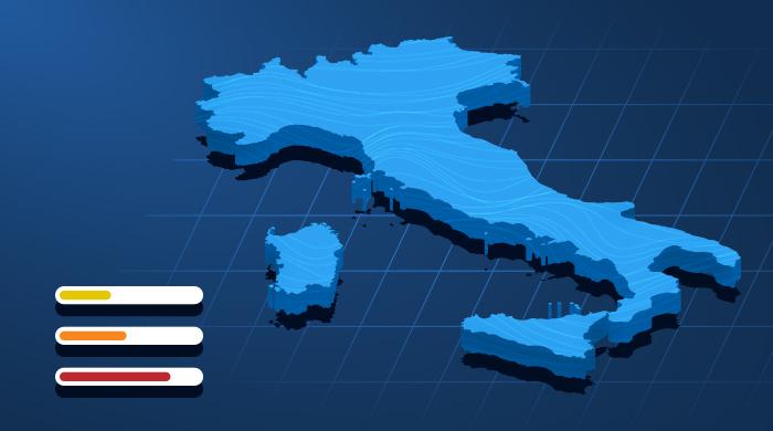 L'Italia ha il più alto numero di decessi per COVID-19 in Europa