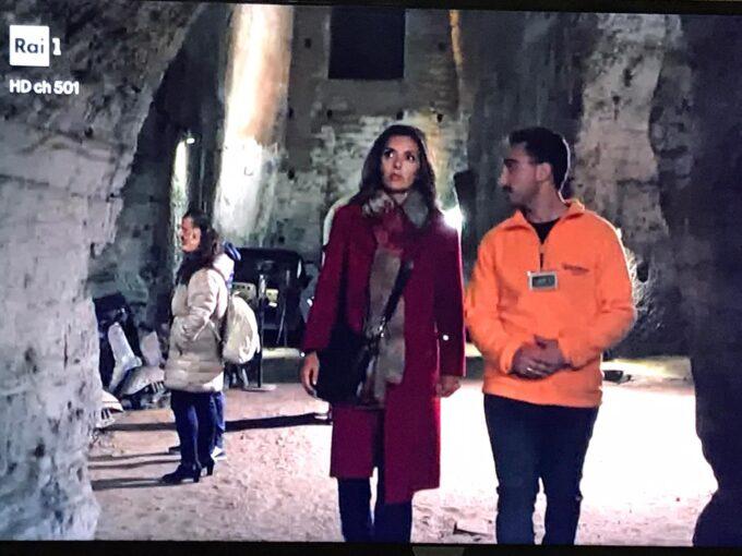 """La Galleria Borbonica di Napoli palcoscenico incantato di """"Mina Settembre"""", la fiction di Rai1"""