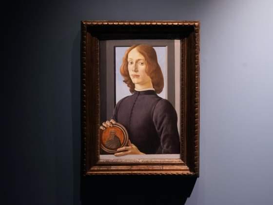 Ritratto di Botticelli venduto   da Sotheby's a New York alla cifra record di 92 milioni di dollari