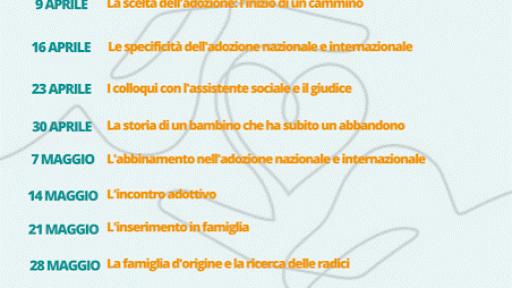 Forum Famiglie e Agape: parte il percorso formativo online per adozioni