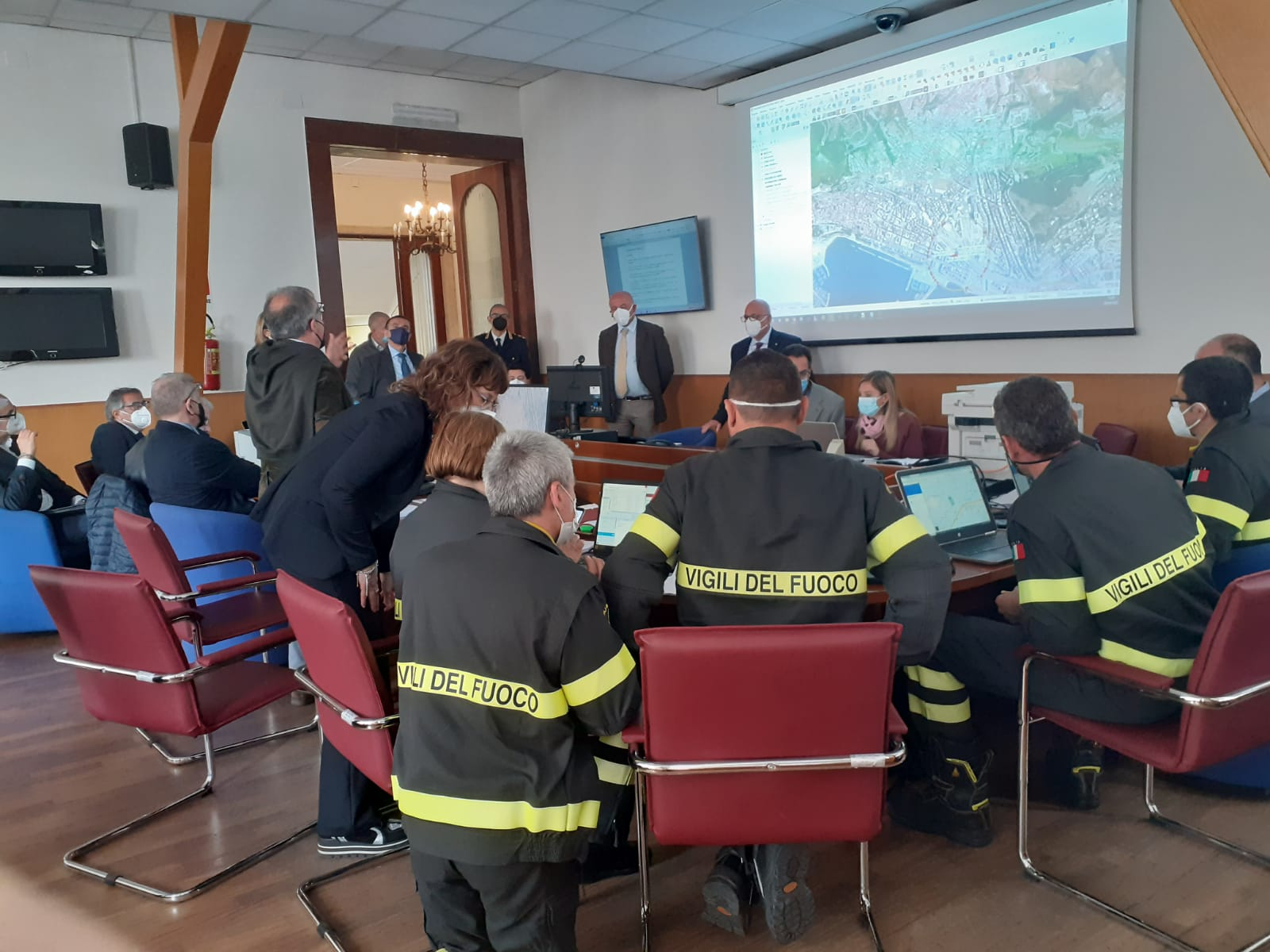 Salerno: esercitazione di difesa civile in Prefettura