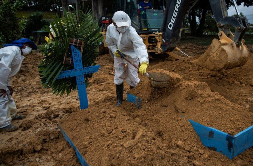 In Brasile tragico record:4.000 morti giornaliere a causa del COVID-19