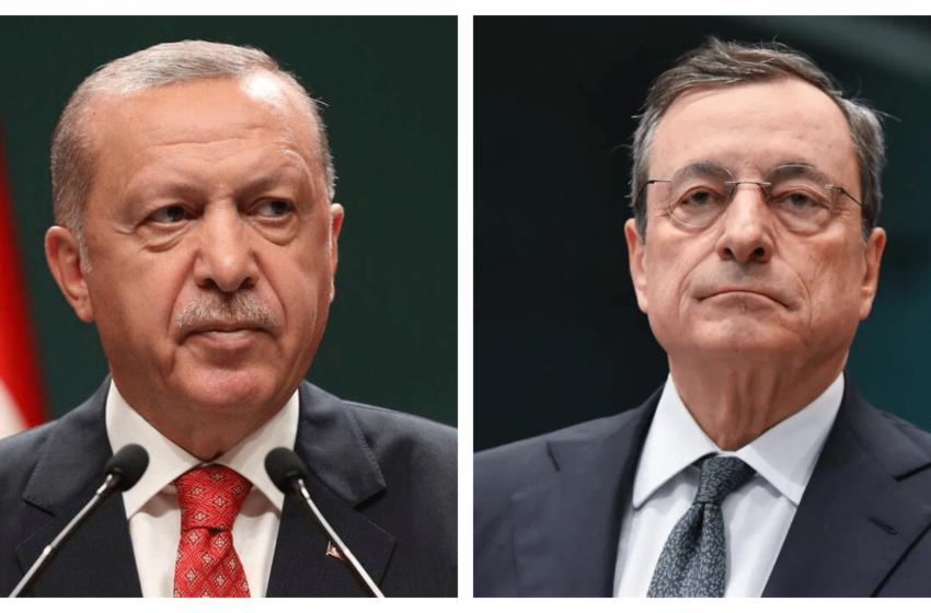 Draghi: 'Erdogan un dittatore,Turchia irritatata convoca l'ambasciatore italiano