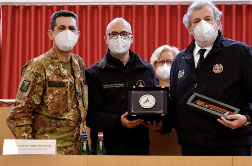 Puglia: Emiliano accoglie Figliuolo e Curcio