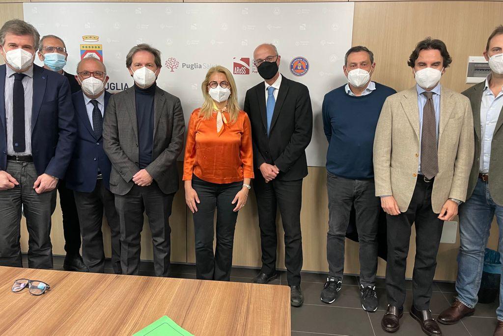 Puglia, piano vaccinale regionale: sottoscritto accordo con gli odontoiatri