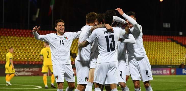 Qualificazioni Mondiali: Italia blinda il primo posto,  tonfo Germania con la Macedonia del Nord