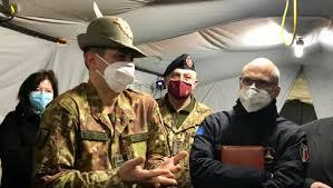 Venerdi 23 Aprile il Gen. Figliuolo ed il  capo della Protezione Civile Curcio in visita in Puglia